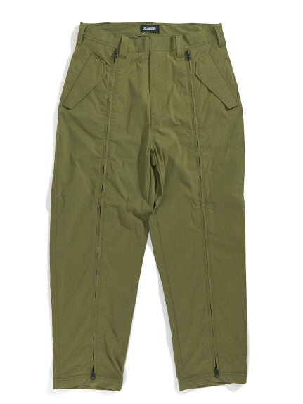 XLarge - Zipped Military Pants - Olive