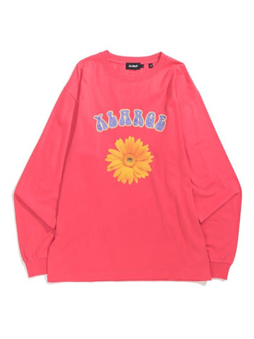 XLARGE - Flower L/S Tee - Pink
