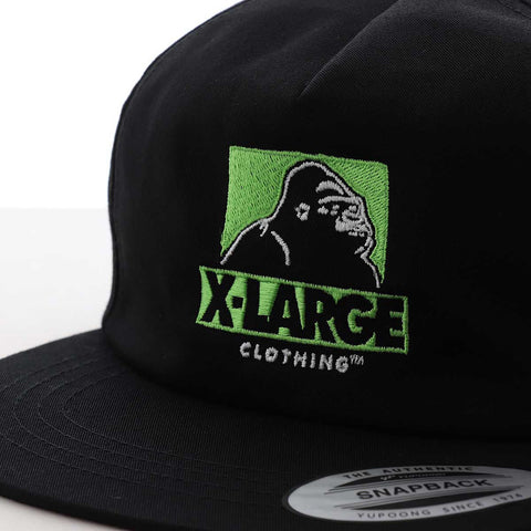 XLARGE - CUTOUT OG HAT - BLACK