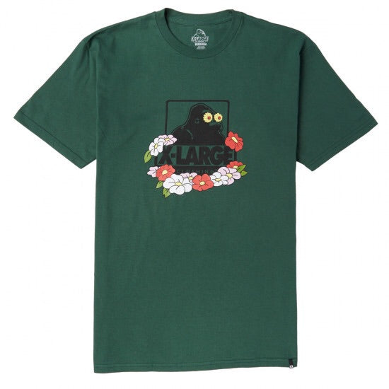 XLARGE - TRANQUIL OG SS TEE - FOREST GREEN