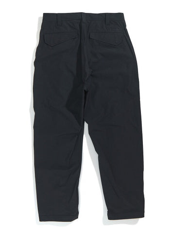 XLarge - Zipped Military Pants - Black