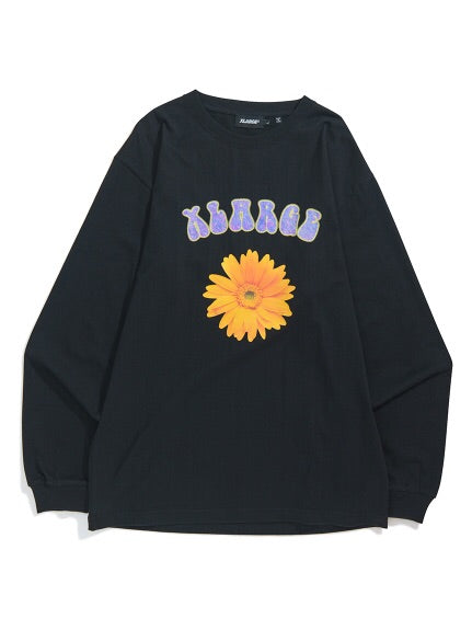 XLARGE - Flower L/S Tee - Black