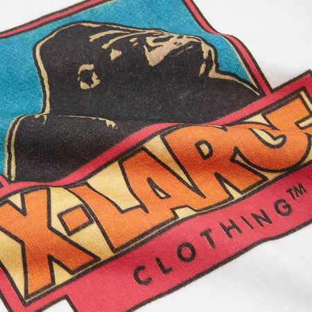 XLARGE - STRIP OG SS TEE - WHITE
