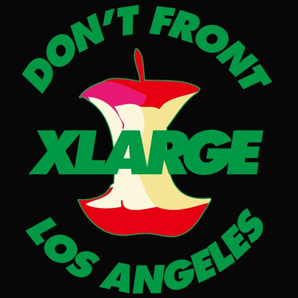XLARGE - Apple S/S Tee - Black