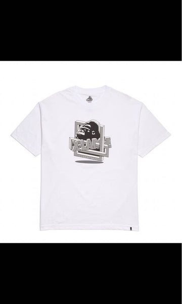 XLARGE - RIDDLE SS TEE - WHITE - THIS IS ALLEY