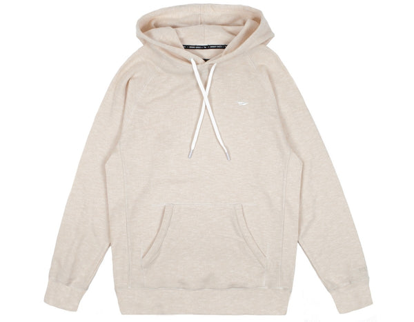 Benny Gold - Marled Premium Hooded Sweatshirt - Cream