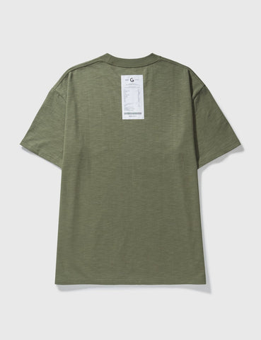GROCERY - Invoice Tee - Olive