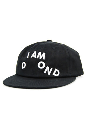 Diamond Supply Co - I Am Unstructured Strapback - Black