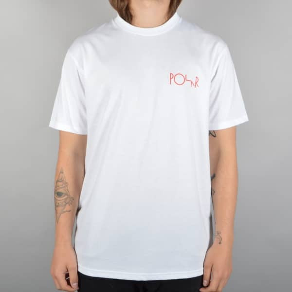 Polar Skate Co. - Stroke Logo Tee - White