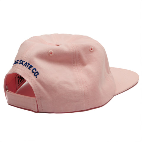 Polar Skate Co. - No Comply Cap - Pastel Pink