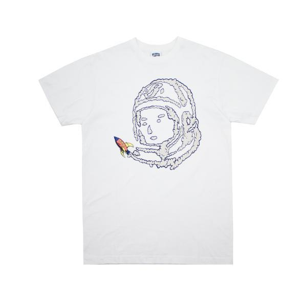 BILLIONAIRE BOYS CLUB - BB SPACE RIDE TEE - WHITE