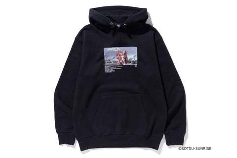 XLARGE - XLARGE×GUNDAM PULLOVER HOODED SWEAT - BLACK