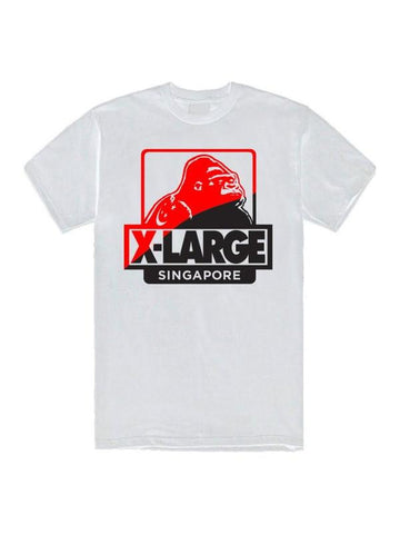 XLARGE - SINGAPORE OG TEE - WHITE - THIS IS ALLEY