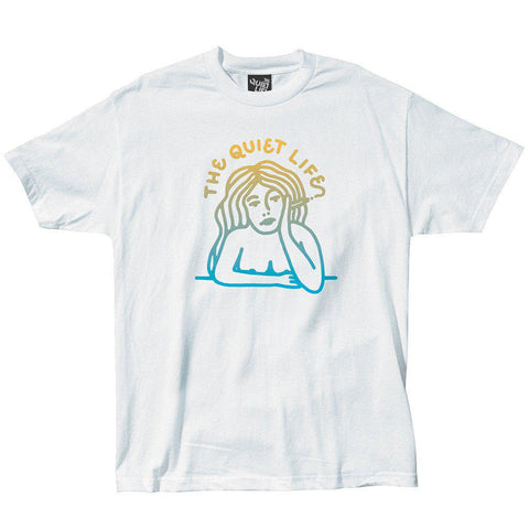 The Quiet Life - Smoking Girl Grad Tee - White
