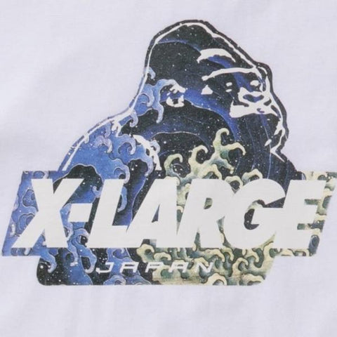 XLARGE - JAPONISM SS TEE - WHITE