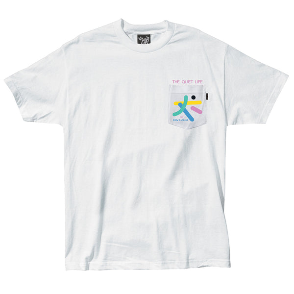 The Quiet Life - Arrangement Pocket Tee - White