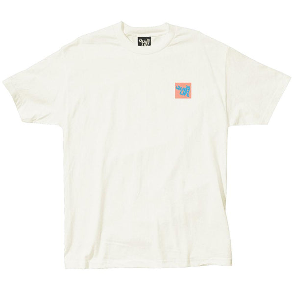 The Quiet Life - Block Logo Tee - Cream