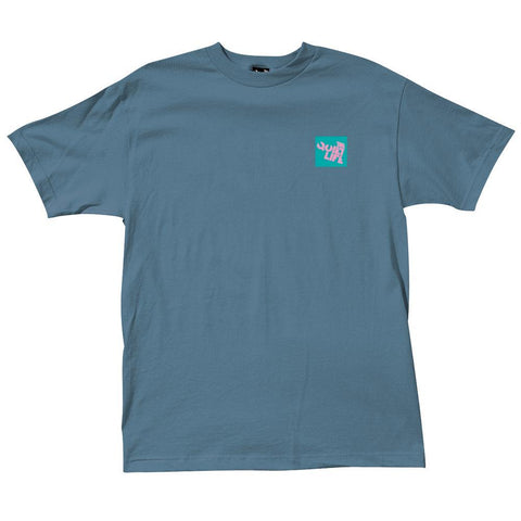 The Quiet Life - Block Logo Tee - Slate