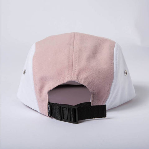 The Quiet Life - Boardwalk 5 Panel Hat - Navy/Pink