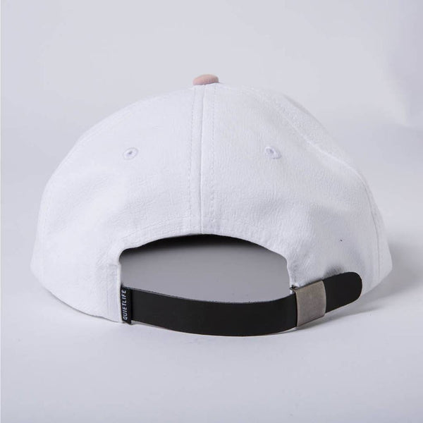 The Quiet Life - Boardwalk Polo Hat - White/Navy