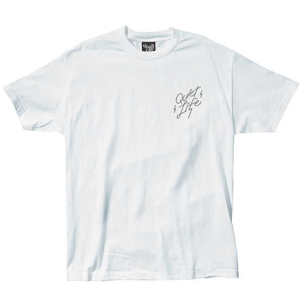 The Quiet Life - Bolt Tee - White