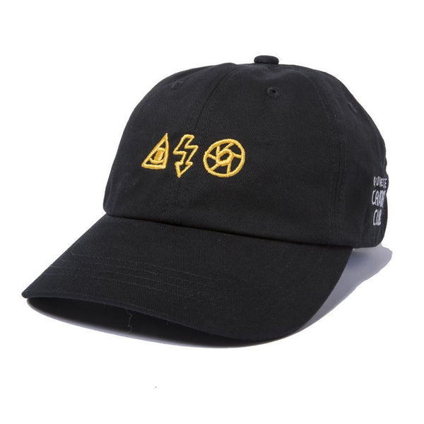 The Quiet Life - Camera Symbols Dad Hat - Black
