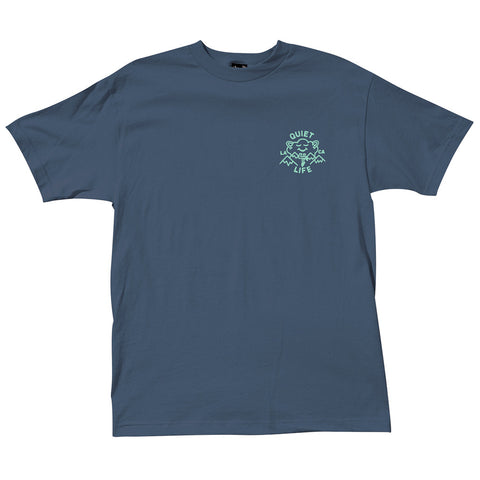The Quiet Life - Cloudy Tee - Harbour Blue