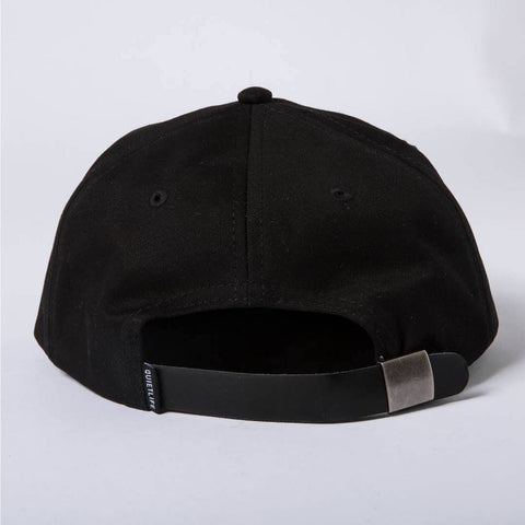 The Quiet Life - Field Polo Hat - Black