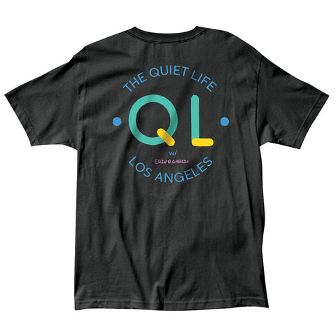 The Quiet Life - Garcia Logo Tee - Black