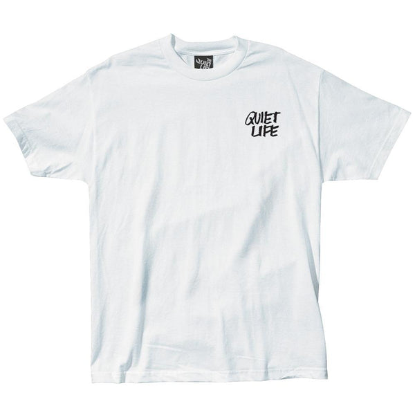 The Quiet Life - Jarvis Tee - White