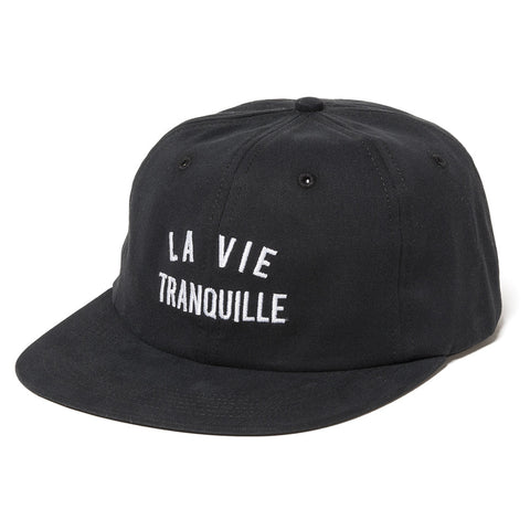 The Quiet Life - La Vie Tranquille Polo Hat - Black
