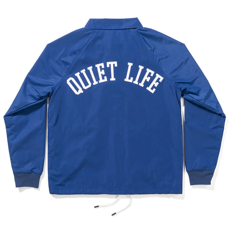 The Quiet Life - Mesh Lined Garage Jacket - Blue
