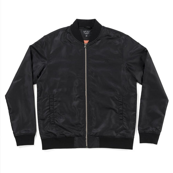 The Quiet Life - Middle of Nowhere Satin Jacket - Black