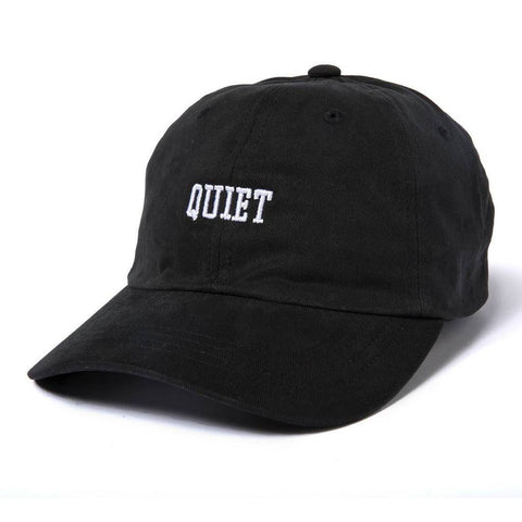 The Quiet Life - Quiet Dad Hat - Black