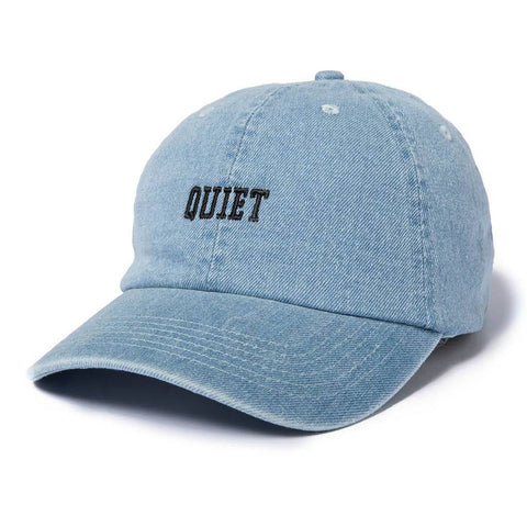 The Quiet Life - Quiet Dad Hat - Denim
