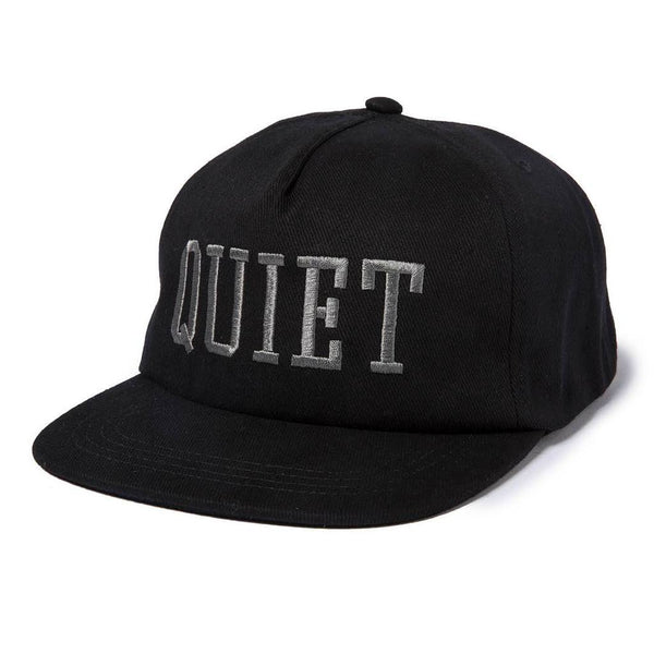 The Quiet Life - Quiet Snapback - Black