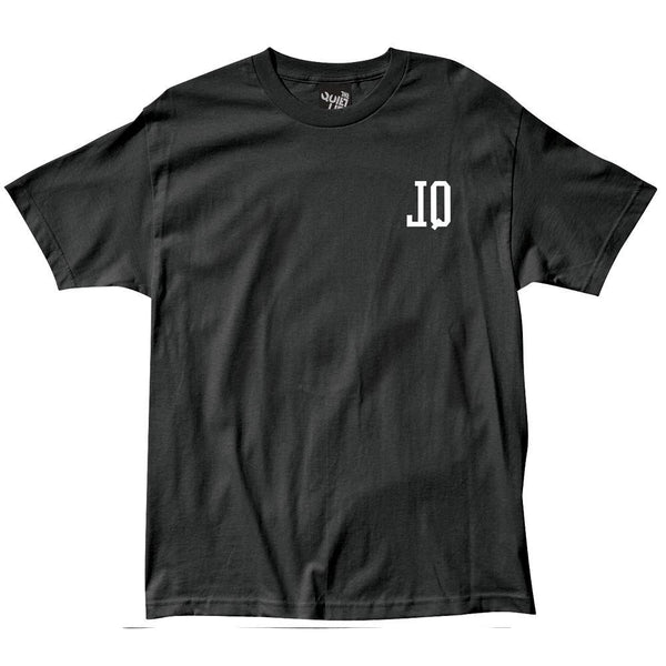 The Quiet Life - Reverse Tee - Black