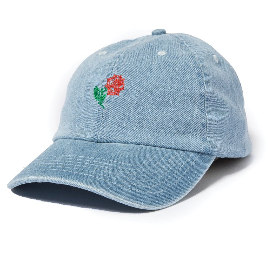 304193c5 The Quiet Life - Rose Dad Hat - Denim – THIS IS ALLEY