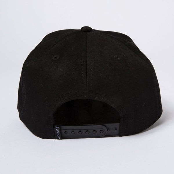 The Quiet Life - Rose Snapback - Black