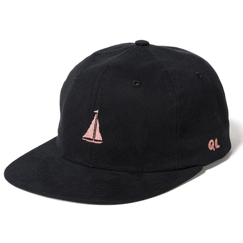 The Quiet Life Sail Polo Hat-Black