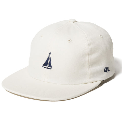 The Quiet Life Sail Polo Hat-Natural