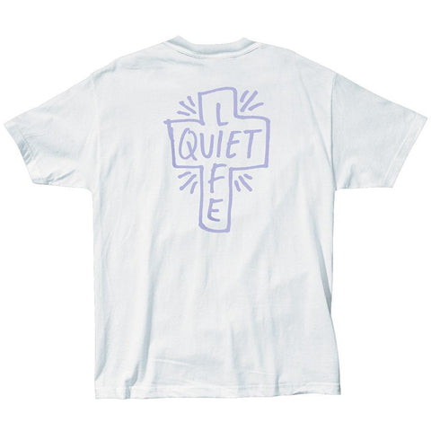 The Quiet Life - Sharpie Tee - White