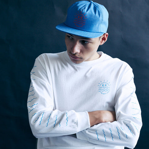The Quiet Life - Sunshine Relaxed Snapback - Blue
