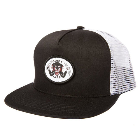 The Quiet Life - Venom Panther Trucker - Black