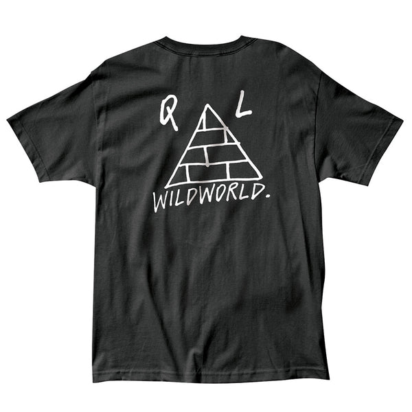 The Quiet Life - Wildworld Tee - Black