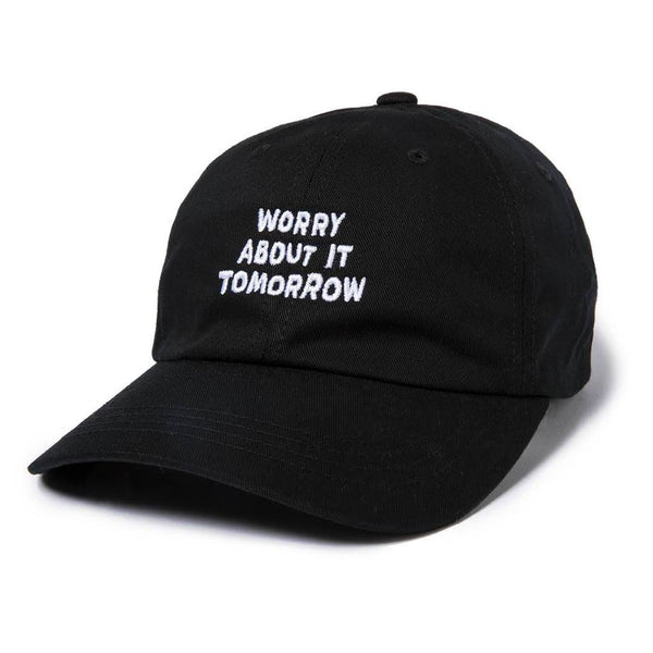 The Quiet Life - Worry About It Tomorrow Dad Hat - Black