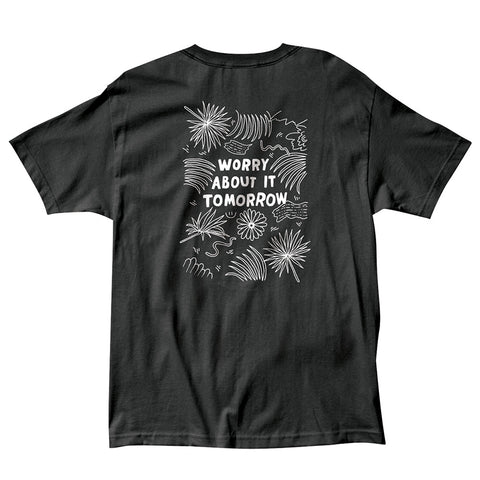 The Quiet Life - Worry Tee - Black