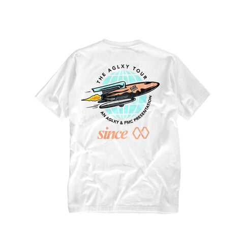 AGELESS GALAXY - TOUR TEE - WHITE