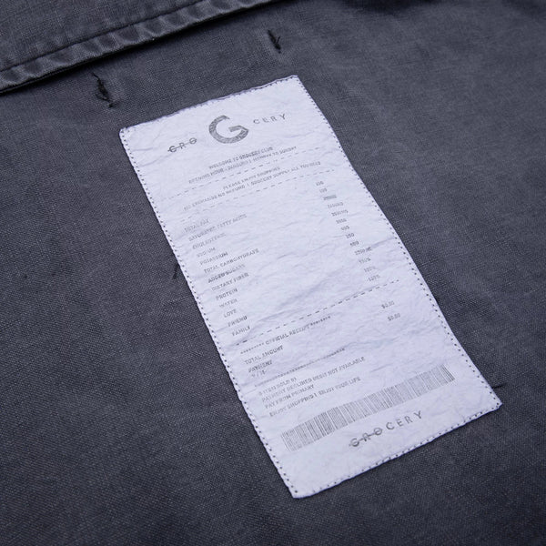 GROCERY - Invoice Army Shirt Jacket - Washed