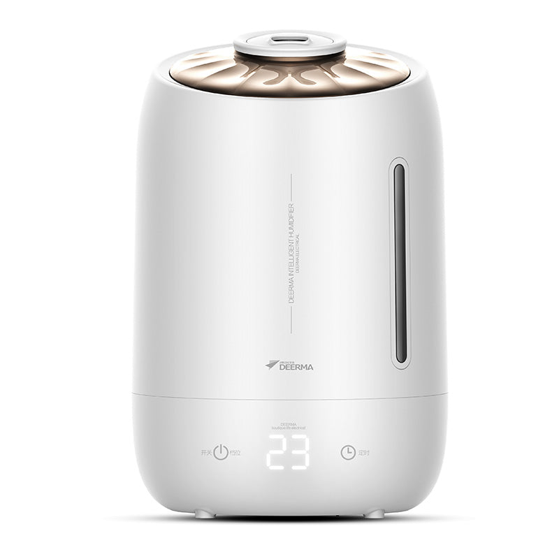 F600 Deerma Household Humidifier Air Purifying Mist Maker 5L Large Capacity Touch-sensitive temperature